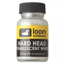 Монтажний лак-фарба Loon HARD HEAD WHITE PEARLESCENT