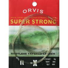 Нахлистовий підлісок конусний нейлоновий Orvis Super Strong Leader 7.5 '1X