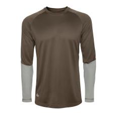 Термобілизна - футболка Redington SonicDry Baselayer Crew, розмір L, коричнева (Terra)