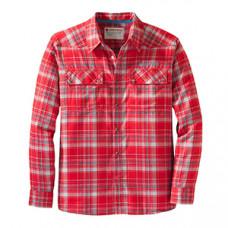 Чоловіча фланелева сорочка Redington Wayward Flannel-L / S, колір-LAVA, розмір-Large