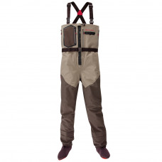 5-WD0210105 Redington SONIC-PRO HDZ WADER CLAY/DARK EARTH LARGE