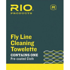 Чистяча серветка для шнурів RIO Fly Line Cleaning Towelette