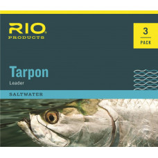 Нахлистовиє підліски з флюорокарбоновую шок-Тіппета RIO Tarpon Leader, 60LB