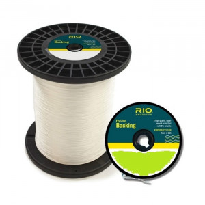 Нахлистовий бекінг RIO Fly Line Backing 20lb, 1 метр, білий (WHITE)