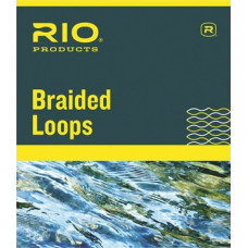 Плетені петля RIO Braided Loops Large, для шнурів 3-6 класів, 4 шт.