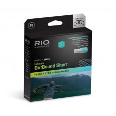 Нахлистовий шнур RIO Intouch Outbound Short, клас WF6F