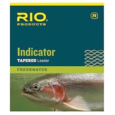 Нахлистовий конусний лідер (підлісок), нейлоновий RIO Indicator Leader 3X