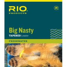 Нахлистовий конусний лідер (підлісок), нейлоновий Rio Big Nasty Leaders 6FT 10LB