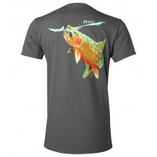 Футболка RIO - Rising Cutthroat Tee Graphite, розмір 2XL