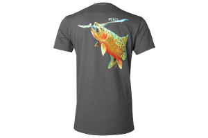 Футболка RIO - Rising Cutthroat Tee Graphite, розмір XL