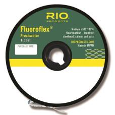 Флюорокарбон, волосінь, ліска, повідковий матеріал, Rio Fluoroflex Freshwater Tippet, 25yd 16lb
