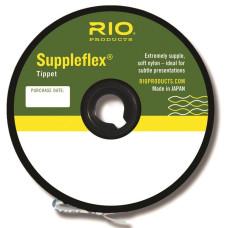 Волосінь, ліска, нейлон, повідковий матеріал, RIO Suppleflex Tippet, товщина 4X