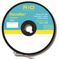 Флюорокарбон, леска, поводочный материал, RIO Fluoroflex Saltwater Tippet 30yd 100lb