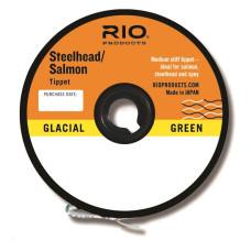 6-22069 RIO SALMON/STEELHEAD GLACIAL GREEN TIPPET 30YD 8LB