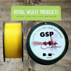 Нахлистовий бекінг Royal Wulff GSP Ultra Thin Fly Line Backing 50lb, 1 метр, жовтий (YELLOW)