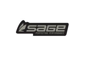 "Наклейка Sage Logo Decal 7.5"" Steel/Black"