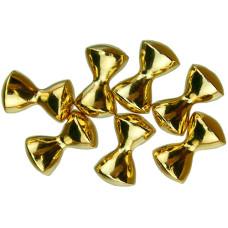 Важкі очі з латуні DAZL, золото, Gold 1/8 3,2mm