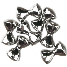 Важкі очі з латуні DAZL, нікель, Nickel 1/4 6,3mm