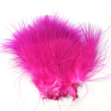 Марабу Spirit River Tiny Tip Dyed Marabou, яскраво-рожеві з вишневими кінцями (Hot Pink / Cerise)