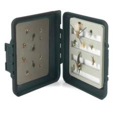 Коробка для мушок водонепроникна, пінка / магніт StreamWorks Medium Waterproof Fly Box