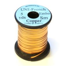 Рифлений тінсел UNI French Embossed Tinsel, малий мідний (SMALL COPPER) Купити за 176 грн.