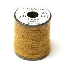 Вовняна нитка UNI-Yarn, коричнева (BROWN)