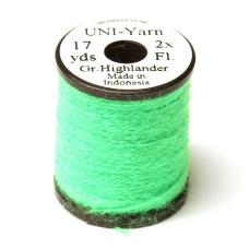 Вовняна нитка UNI-Yarn, високогірній-зелений (HIGHLANDER GREEN)