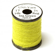 Вовняна нитка UNI-Yarn, світло-оливковий (INSECT GREEN)