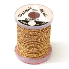 Плетене волокно UTC Sparkle Braid, міні мідне (MINI COPPER)