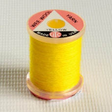 Тонка вовняна нитка UTC Wee Wool Yarn, жовта (YELLOW)