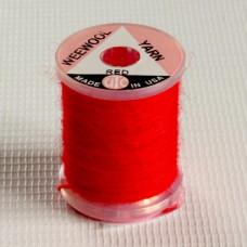 Тонка вовняна нитка UTC Wee Wool Yarn, червона (RED)