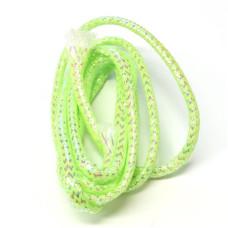 Плетена світлонакопичувальна трубка Veniard Colour Glow Pearl Mylar Piping, середня шартрез (Medium Lime)