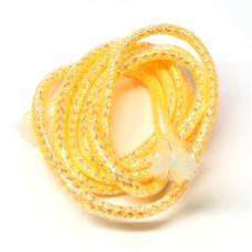 Плетена світлонакопичувальна трубка Veniard Colour Glow Pearl Mylar Piping, середня помаранчева (Medium Orange)