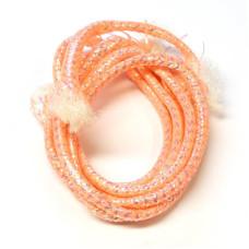 Плетена світлонакопичувальна трубка Veniard Colour Glow Pearl Mylar Piping, середня червона (Medium Red)