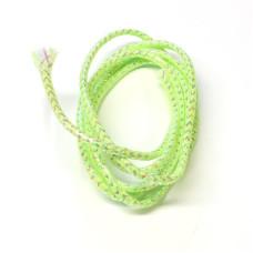 Плетена світлонакопичувальна трубка Veniard Colour Glow Pearl Mylar Piping, мала шартрез (Small Lime)