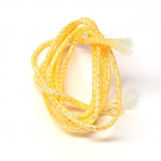 Плетена світлонакопичувальна трубка Veniard Colour Glow Pearl Mylar Piping, мала помаранчева (Small Orange)