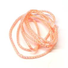 Плетена світлонакопичувальна трубка Veniard Colour Glow Pearl Mylar Piping, мала червона (Small Red)