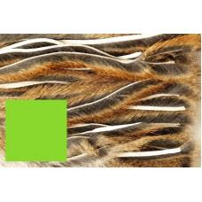 Зонкери з червоної білки Veniard Squirrel Micro Zonker Strips, шартрез (Charteuse)