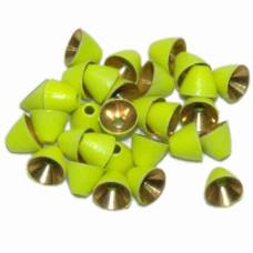 Латунні конусні головки Wapsi Painted Cone Heads, 4.0мм шартрез Купити за 161 грн.