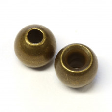 """Металеві круглі головки Wapsi Cyclop Beads 4.76мм (3/16 """"), оливковато-коричневі (BROWN / OLIVE) Купити за 81 грн."""