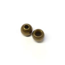 """Металеві круглі головки Wapsi Cyclop Beads 1.98мм (5/64 """"), оливковато-коричневі (BROWN / OLIVE) Купити за 81 грн."""