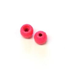 """Металеві фарбовані круглі головки Wapsi Painted Cyclop Beads 2.38мм (3/32 """"), флуо-рожеві (FL PINK) Купити за 108 грн."""