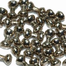 Глазки-гантельки Wapsi Dumbbell Eyes, 0.47 гр X-Small, нікельовані
