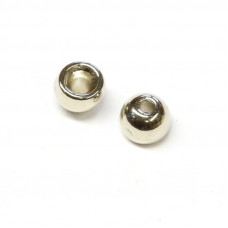 Вольфрамові головки круглі Wapsi TUNGSTEN BOMB BEADS 4.0мм, нікель (NICKEL)