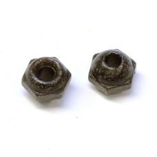 Вольфрамові головки з гранями Wapsi TUNGSTEN FACETED BEADS 4.8мм, чорні (BLACK) Купити за 75 грн.