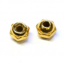 Вольфрамові головки з гранями Wapsi TUNGSTEN FACETED BEADS 4.8мм, золотий (GOLD)