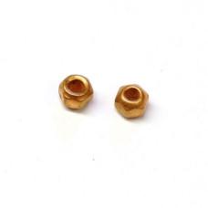 Вольфрамові головки з гранями Wapsi TUNGSTEN FACETED BEADS 2.4мм, мідний (COPPER)