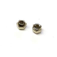 Вольфрамові головки з гранями Wapsi TUNGSTEN FACETED BEADS 2.4мм, нікель (NICKEL) Купити за 75 грн.