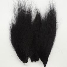 Бактейл шматочки Bucktail Pieces, чорний (black)