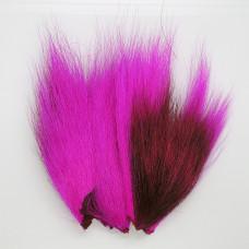 Бактейл шматочки Bucktail Pieces, флуо-світло-вишневий (fl. cerise)